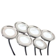 Набор KT-R-6x0.5W LED Warm White 12V (круг)
