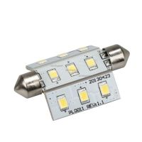 Автолампа ARL-F42-9E Warm White (10-30V, 9 LED 2835) (ANR, Открытый)