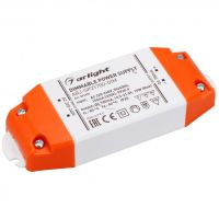 Блок питания ARJ-SP21700-DIM (15W, 700mA, PFC, Triac) (ARL, IP20 Пластик, 3 года)